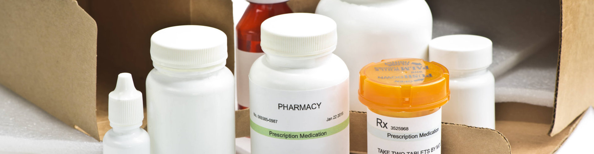 opened package of medicine